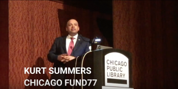 Government and Social Innovations: Speaker Kurt Summers, Chicago Treasurer - Edition 33